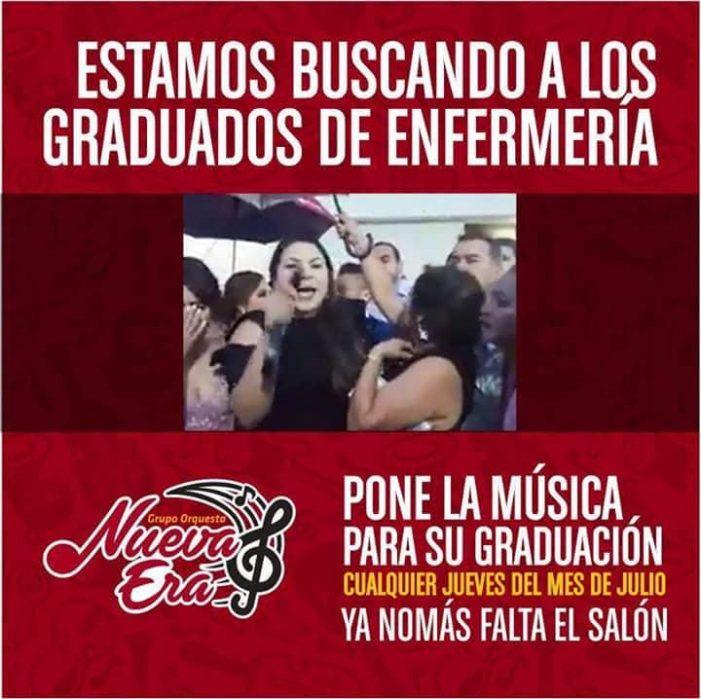 Sinaloa | A graduados de Enfermería 808 les ofrecen fiesta al estilo Rubí