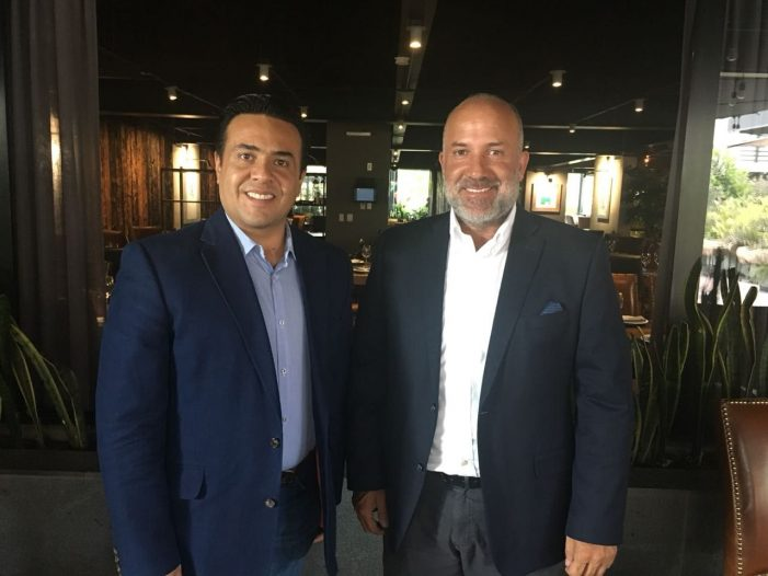 Luis Nava junta a Pancho Pérez Rojas