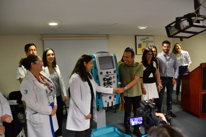 Sinaloa | Pediátrico recibe equipo de terapia renal