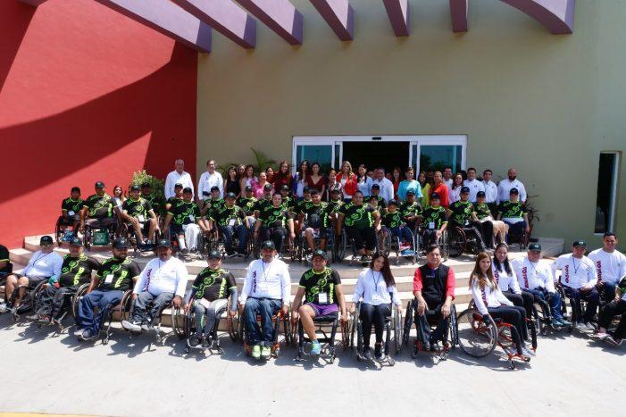 Sinaloa | Inauguran campamento de sillas de ruedas