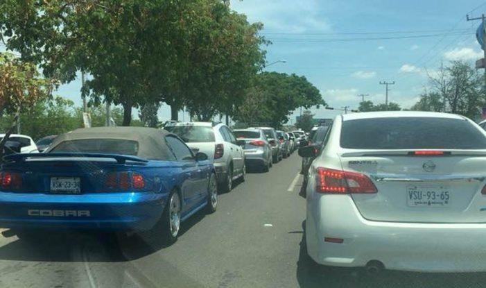 Sinaloa   Tránsito Municipal ya implementa operativos por obra en Rolando Arjona