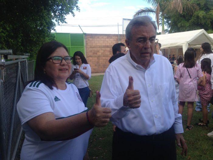 Sinaloa   Rubén Rocha Moya confía en la victoria