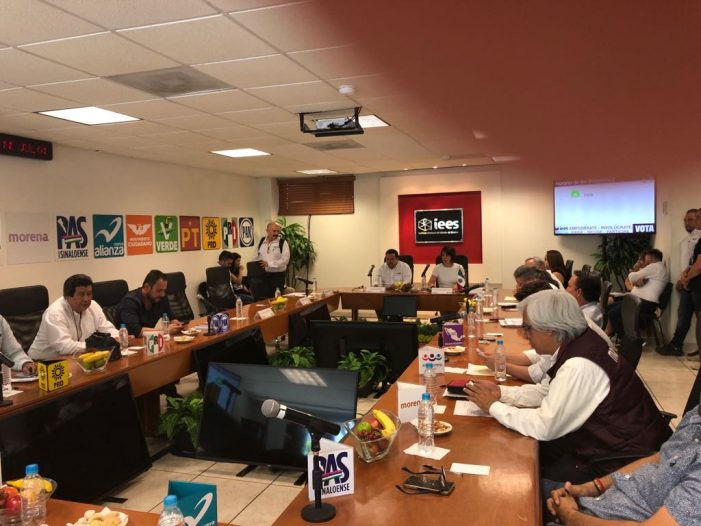 Sinaloa | Tarda IEES en dar cifras de casillas instaladas; Representantes de Partidos