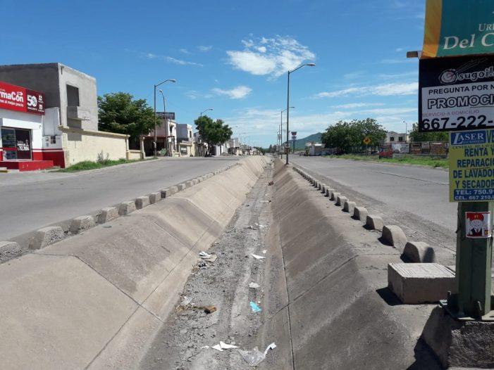 Sinaloa | Revisa PC de Culiacán estado de canales y arroyos