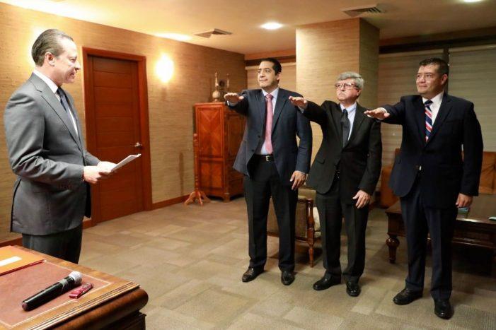 Sinaloa | Valdés, Ruelas y Encinas, al gabinete estatal