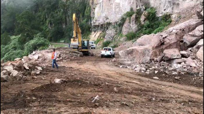 Reabren provisionalmente la libre Mazatlán-Durango