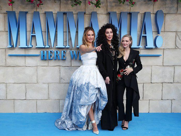 El beso de Cher con Meryl Streep