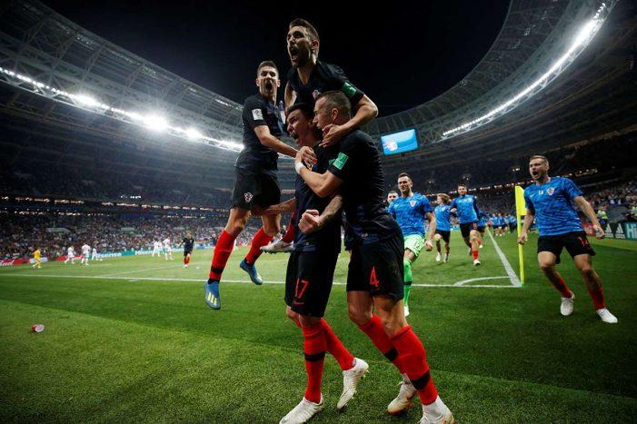 Croacia será finalista en Rusia 2018