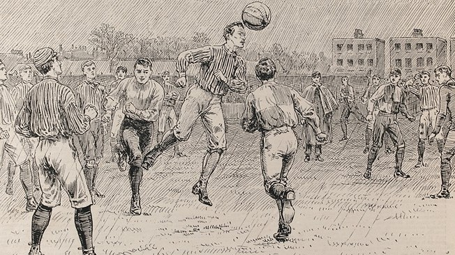 ¿Sabes en dónde nació el fútbol?