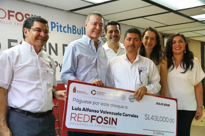 "Sinaloa | Lanzan ""Fosin Digital""; dispersan 511 mdp para Mipymes"