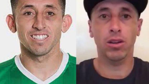 El nuevo rostro de Hector Herrera tras las cirugías