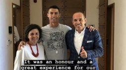 La cuantiosa propina que dejó CR7 en un hotel de Grecia