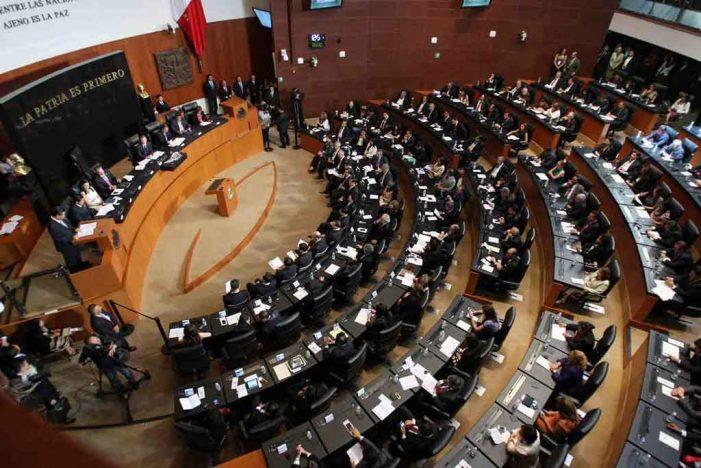 Senadores plurinominales que trabajarán en 2018