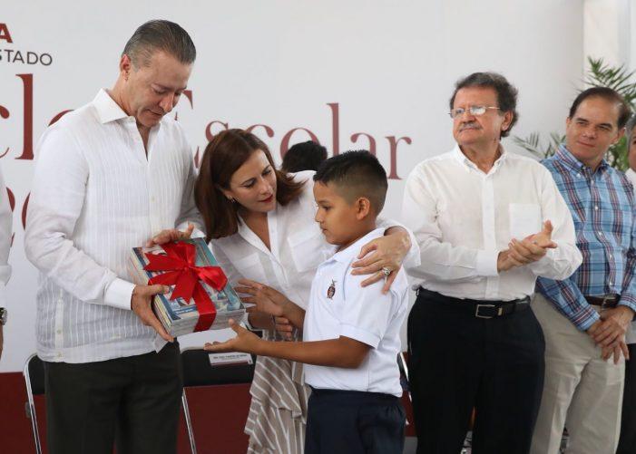 Sinaloa   Gobernador inaugura ciclo escolar en Mazatlán