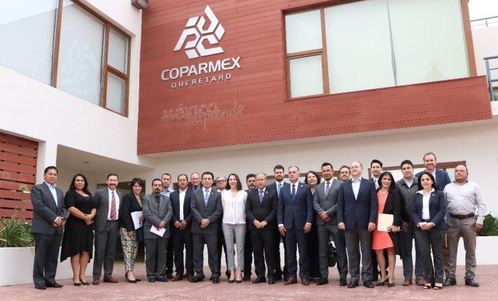 Autoridades y Coparmex acuerdan lanzamiento de programa por la educación de policías