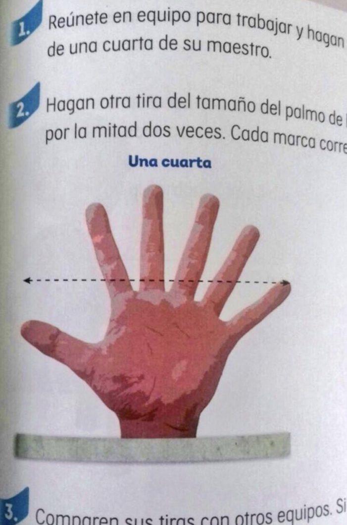 ¡Vengan esos seis..! perdón, cinco dedos
