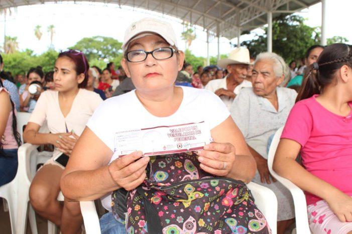 Sinaloa | Comienzan a fluir apoyos por altas temperaturas en municipios