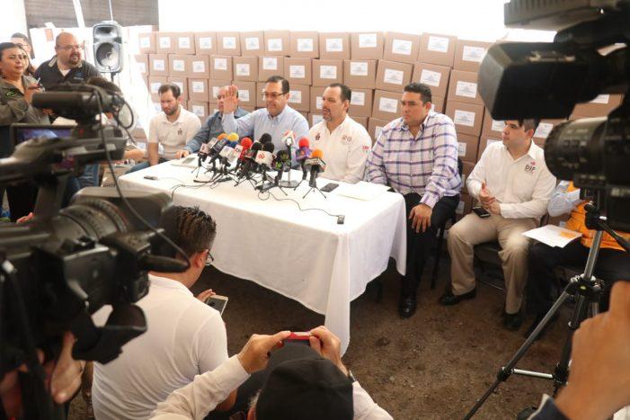 Sinaloa | Llegan 10 mil abanicos para combatir el calor