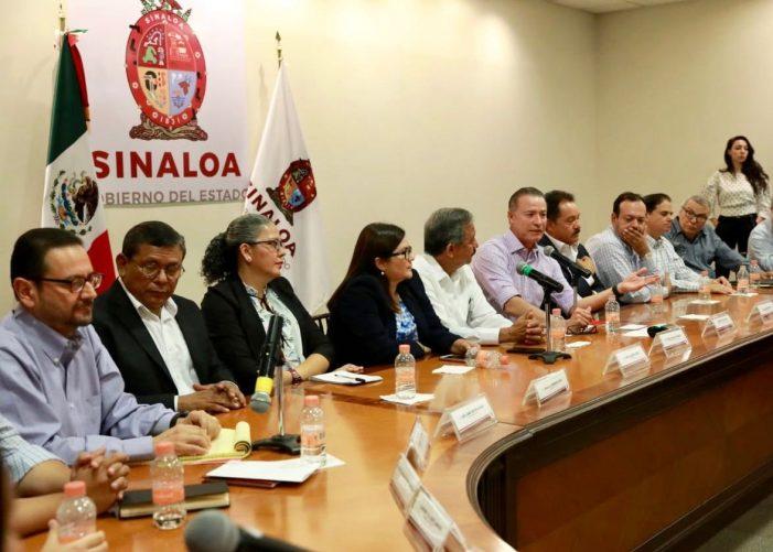 Todos tenemos una causa común, que es Sinaloa: Quirino