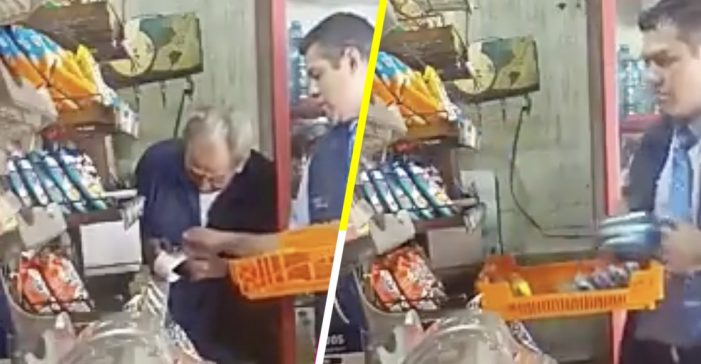 Empleado de Bimbo roba a anciano