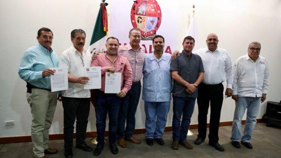 Sinaloa | Se reúne Quirino con diputados y alcaldes electos del PT