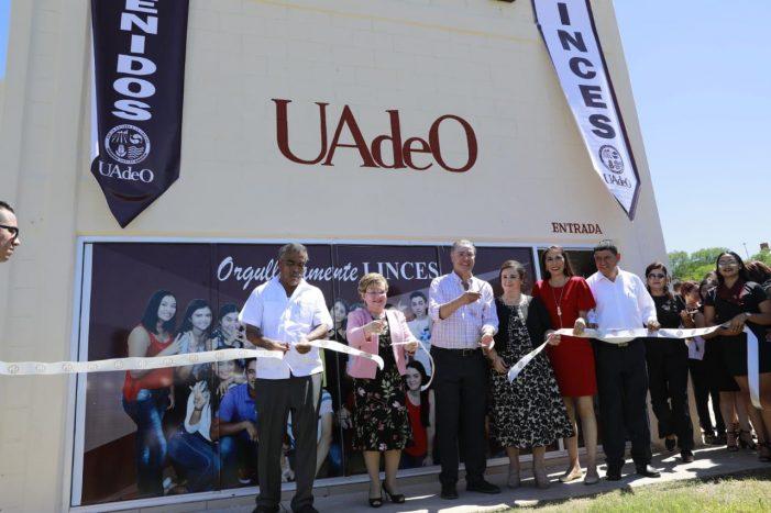 Inauguran extensión de la UAdeO en Sinaloa de Leyva