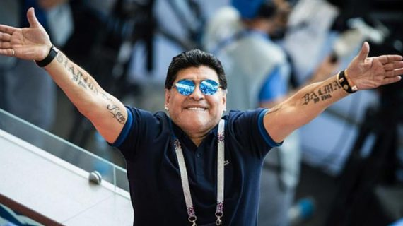 """Para Ripley… Maradona se mudará a Sinaloa con el """"Gran Pez"""""""