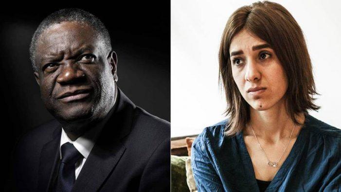 Nadia Murad & Denis Mukwege| ¡Premios Nobel de la Paz por luchar contra la violencia sexual!