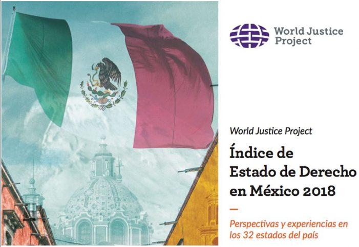World Justice Project sitúa a Querétaro como primer lugar en combate a la corrupción en justicia y seguridad