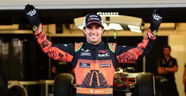'Checo' Pérez renueva contrato con Force India