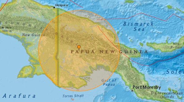 Papúa Nueva Guinea retumba con un sismo magnitud 7.0