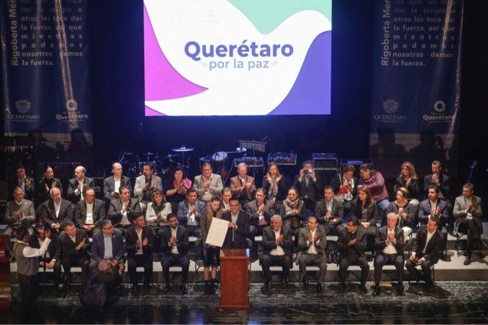 Luis Nava aspira a hacer de Querétaro una ciudad de paz