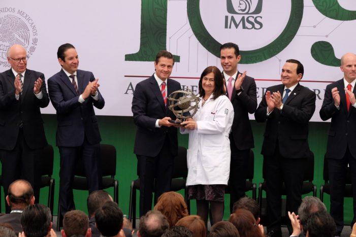 El IMSS nos recuerda el valor de conservar y fortalecer instituciones: Peña Nieto