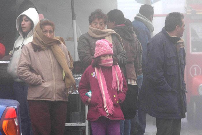 Pronostican bajas temperaturas en Querétaro