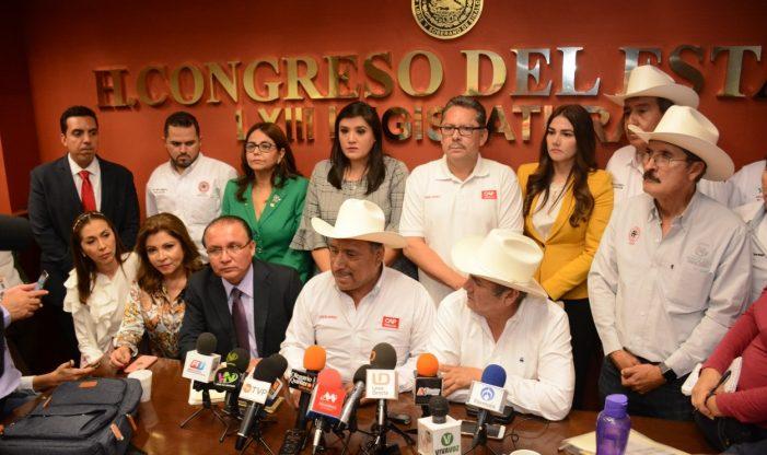 Acusa el PRI que MORENA pretende desmantelar las organizaciones agrícolas