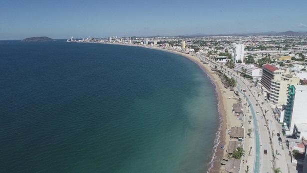 Lista remodelación del malecón de Mazatlán; este fin tendrán el Maratón Pacífico