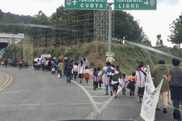 Caravana de indígenas mexicanos no recibe apoyo