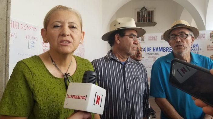 Morenistas levantan huelga de hambre en Culiacán