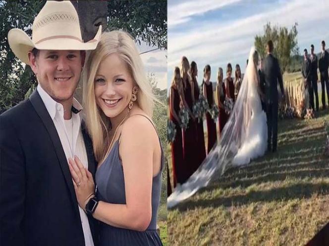Recien casados mueren en accidente de helicóptero