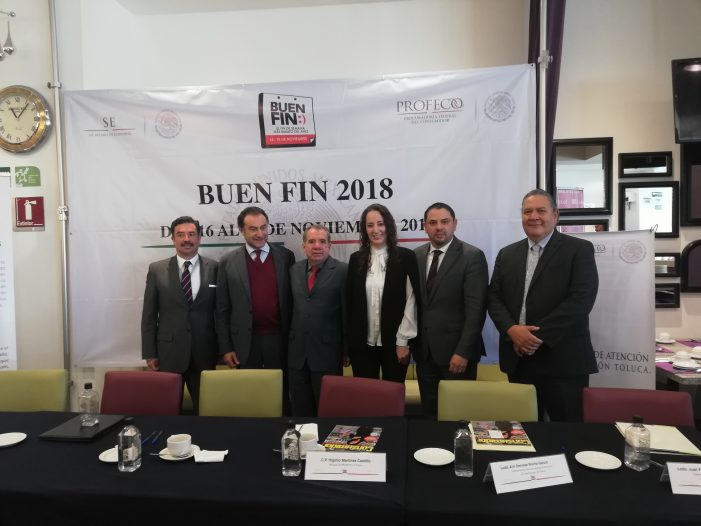 Espera el Estado de México 10 mil 500 mdp durante el Buen Fin