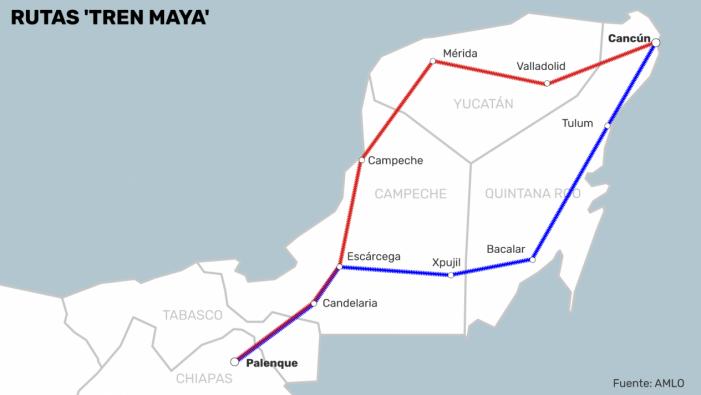 El Tren Maya se financiará en su totalidad con recursos públicos