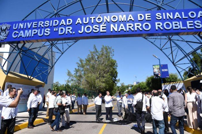 Sinaloa | Me voy, pero volveré: Narro; reconocen al secretario de Salud