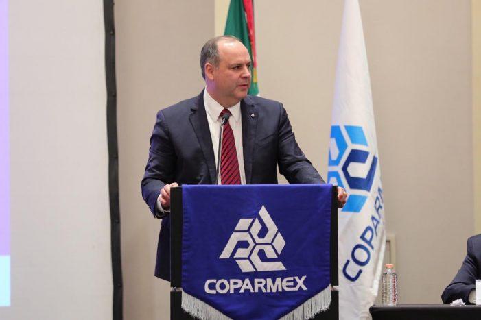 Coparmex reelige a Gustavo de Hoyos como su presidente para 2019