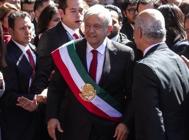 ¡No le fallaré al pueblo de México!: López Obrador