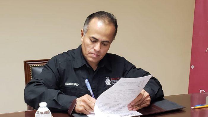 Se va el secretario de Seguridad Pública de Sinaloa