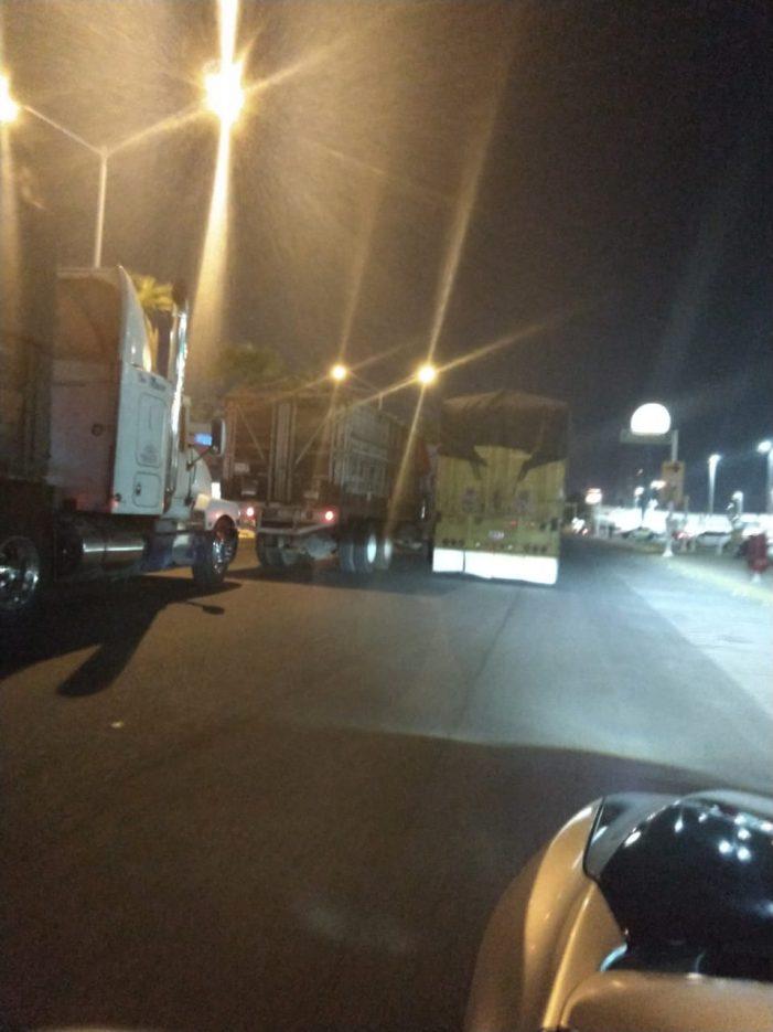 Más de 200 tráileres generan caos vial en Culiacán