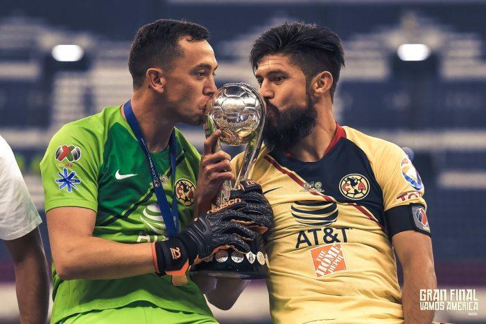 América vence al Cruz Azul y se corona campeón del Apertura