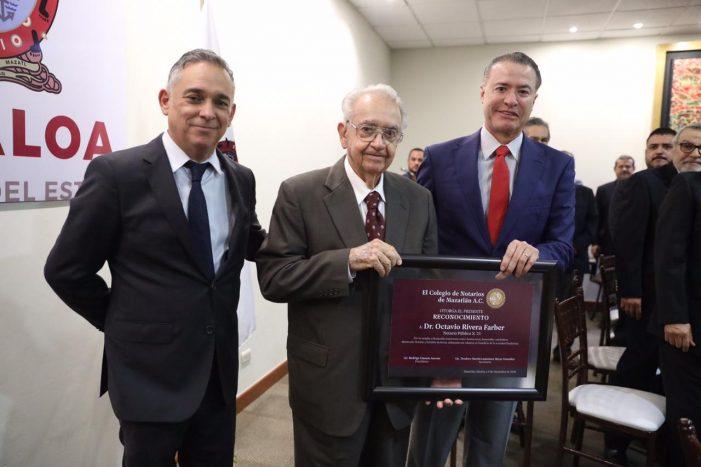 Rodrigo Llausás, nuevo presidente del Consejo de Notarios de Sinaloa