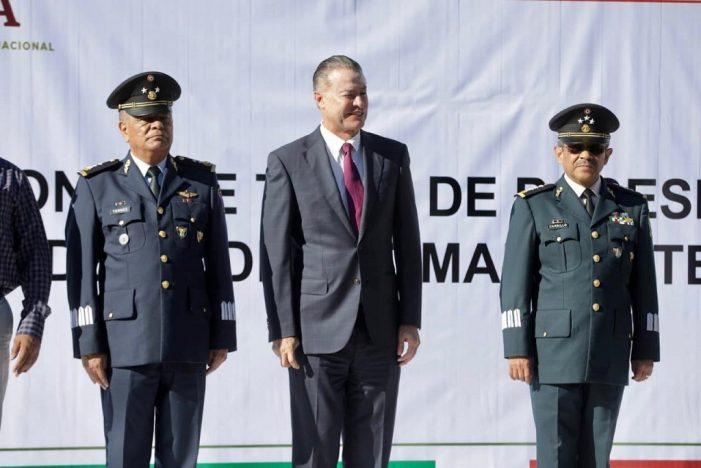 Hay nuevo comandante de la Novena Zona Militar
