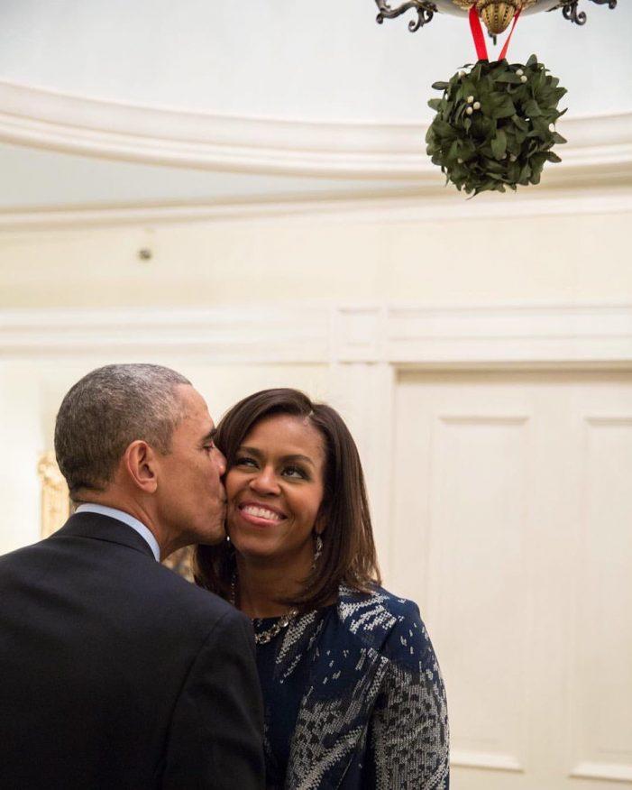 La felicitación de navidad de los Obama